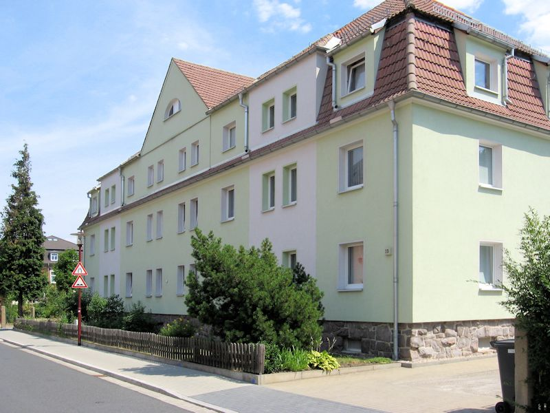 Wehrstraße 33-35, Freital-Deuben, Straßenansicht
