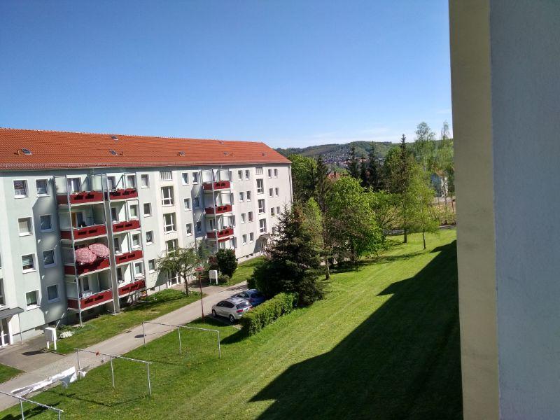 Schachtstraße 45, Freital-Döhlen, Blick vom Balkon