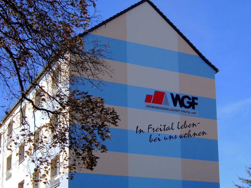 Dresdner Straße 276, Freital-Hainsberg, Giebel