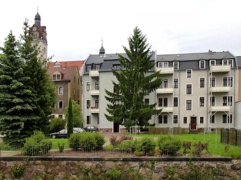 Dresdner Straße 57 und 59, Freital-Potschappel, Hofansicht