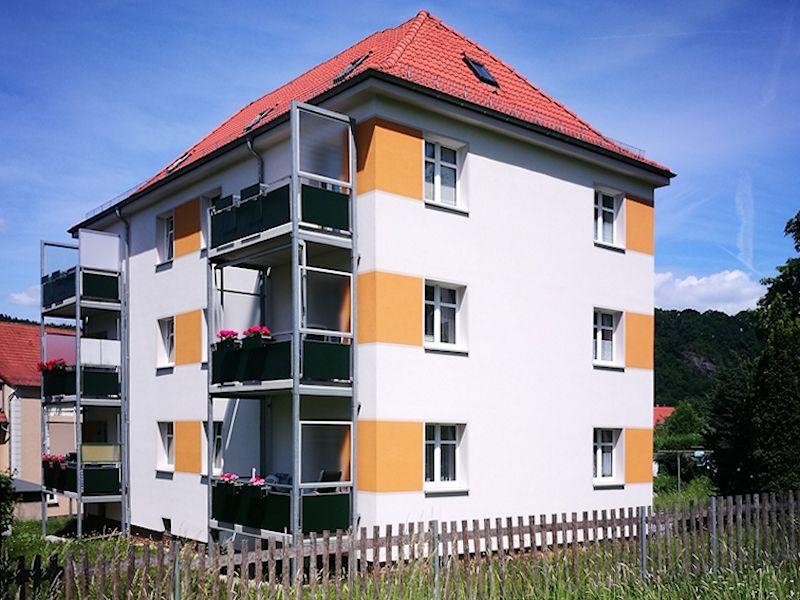 An der Kleinbahn 7, Freital-Hainsberg, Ansicht