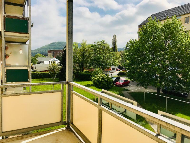 Dresdner Straße 274d, Freital-Deuben, Blick vom Balkon