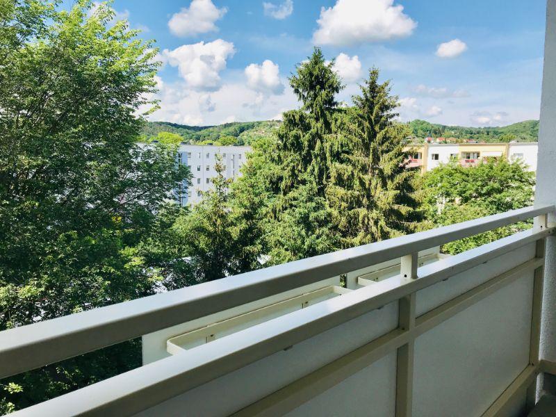 Dresdner Straße 299c, Freital-Deuben, Blick vom Balkon