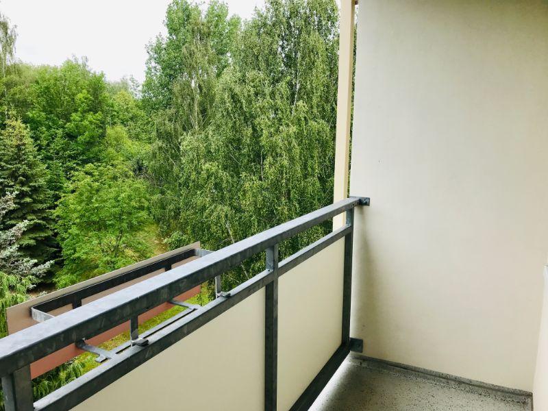 Weißiger Hang 6d, Freital-Zauckerode, Blick vom Balkon