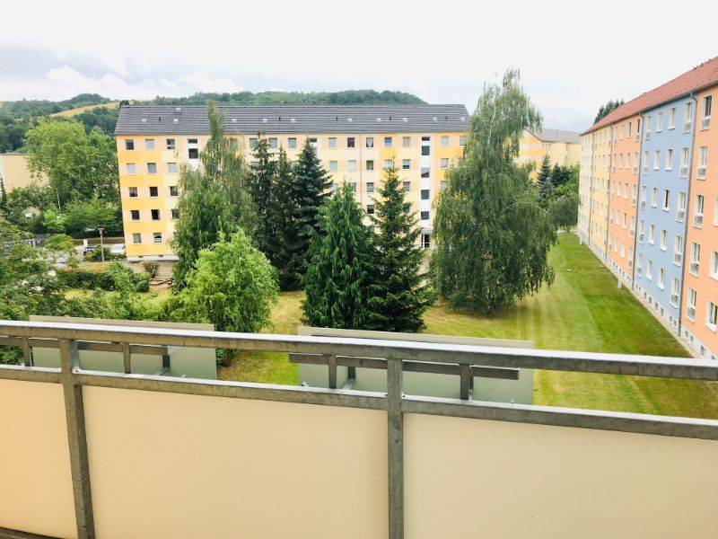 Dresdner Straße 260c, Freital-Deuben, Blick vom Balkon