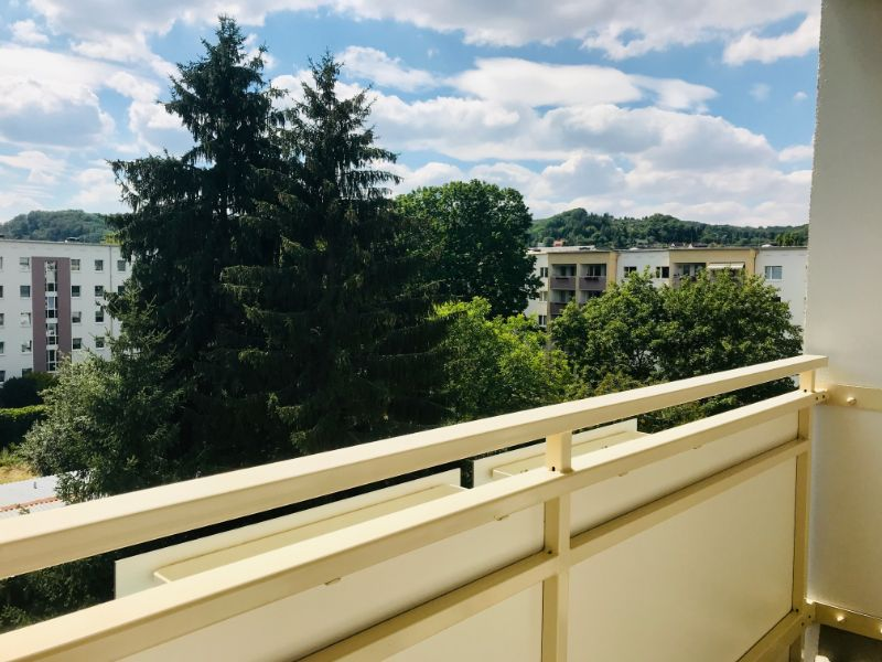 Dresdner Straße 299d, Freital-Deuben, Blick vom Balkon