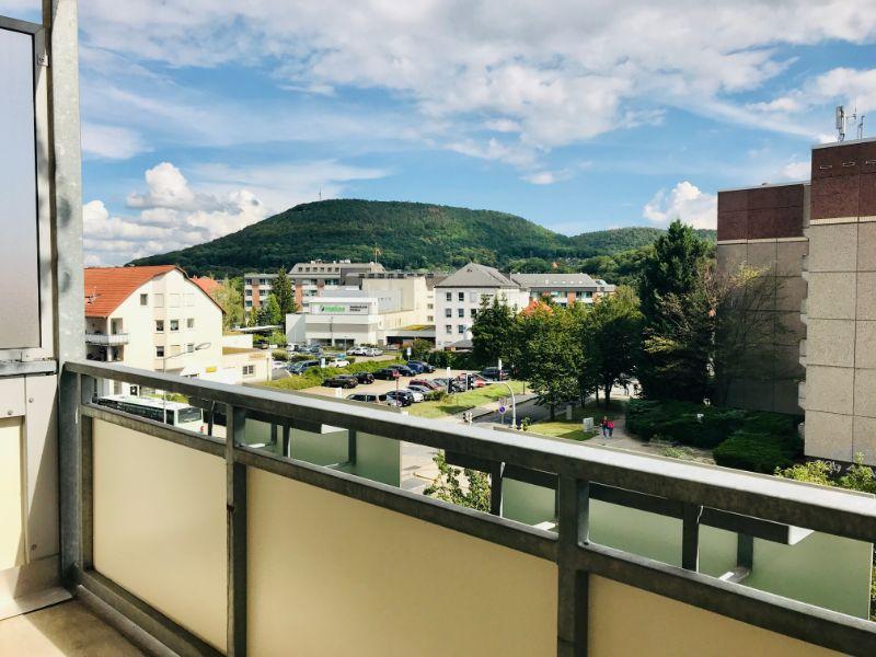Dresdner Straße 264b, Freital-Deuben, Blick vom Balkon