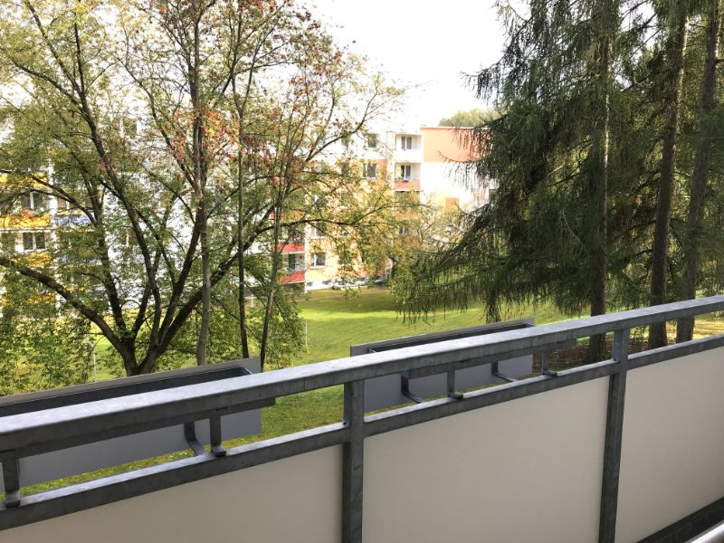 Weißiger Hang 5c, Freital- Zauckerode, Blick vom Balkon