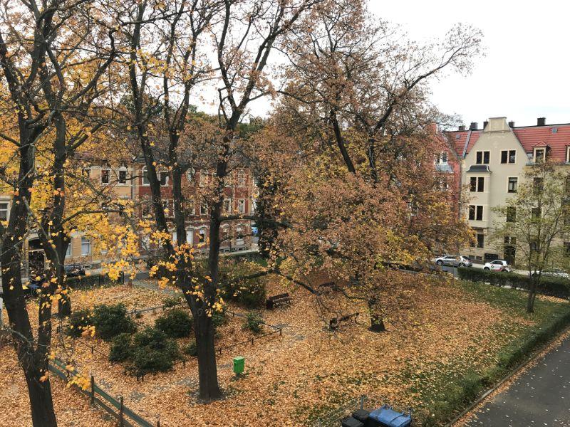 Richard-Wagner-Platz 1, Freital-Potschappel, Blick aus dem Fenster