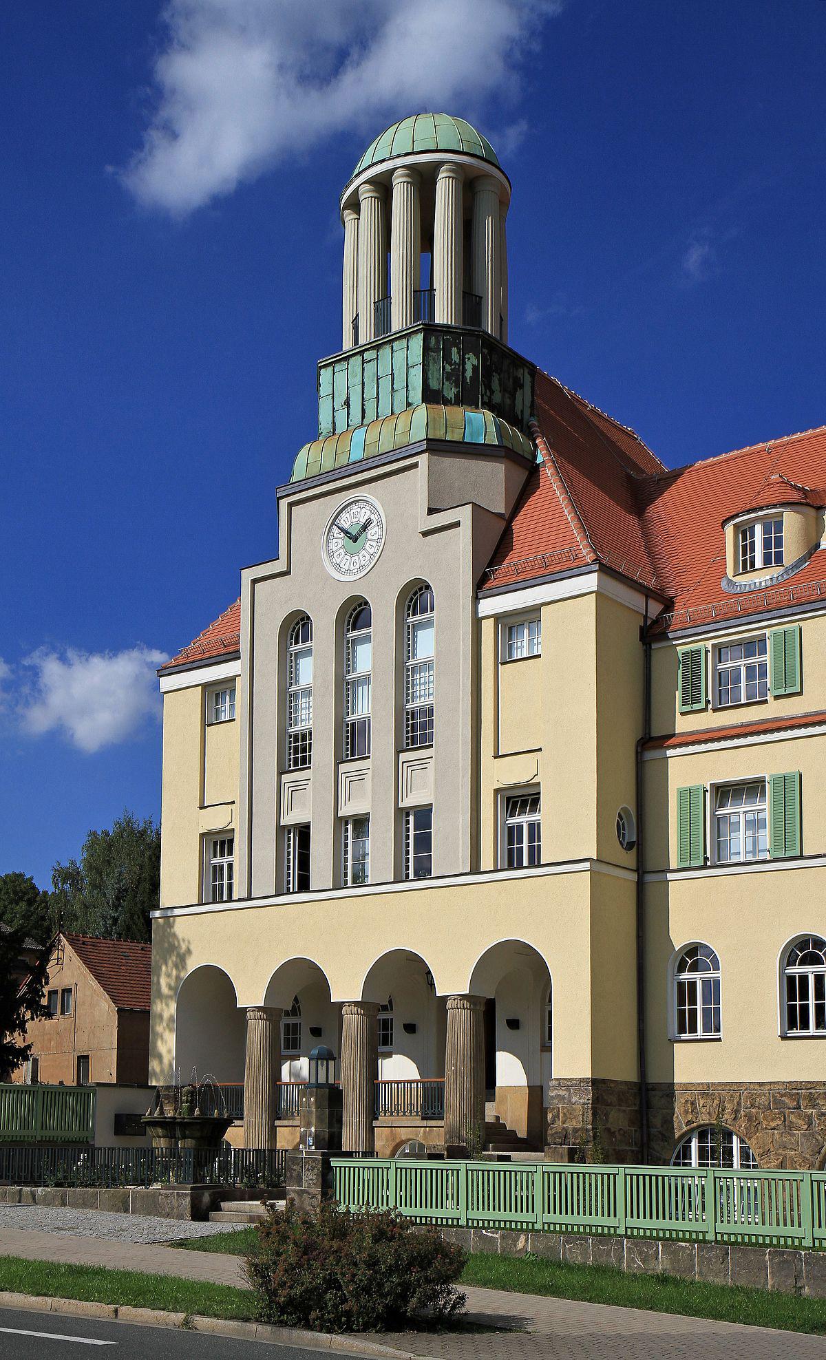 Geschäftssitz der Wohnungsgesellschaft Freital mbH, Lutherstrße 22,01705 Freital