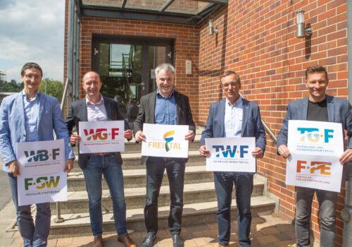 Neues Cooperate Design der Freitaler Stadtgesellschaften; Foto Stadt Freital