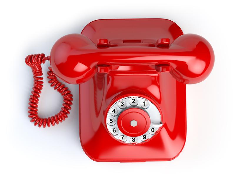 Telefonnummern, Foto Clipdealer.