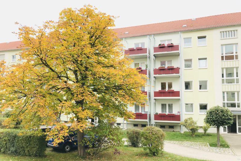 Schachtstraße in Freital-Döhlen, Wohnungsgesellschaft Freital mbH