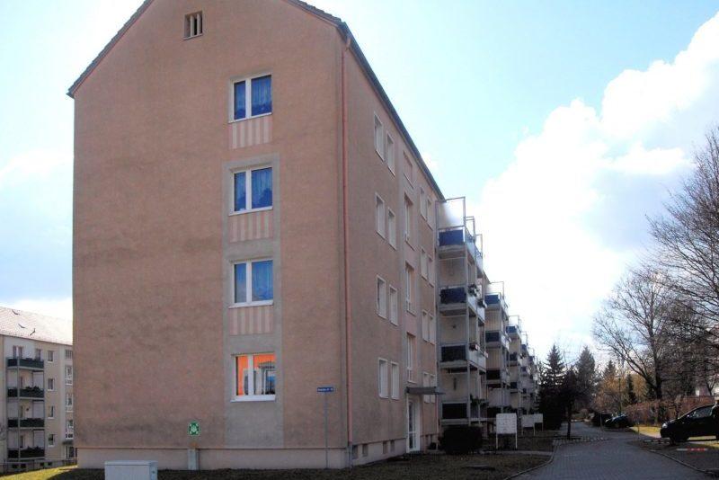 Balkonanbau am Giebel Schachtstraße 67, Freital, Foto: Wohnungsgesellschaft Freital mbH