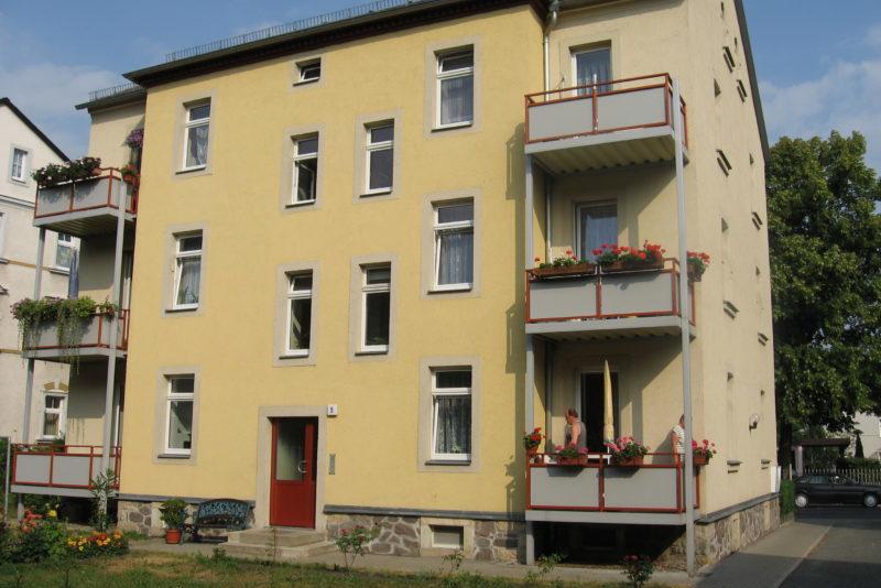 Dämmung der letzten Geschossdecke, Johannisstraße 5, Freital, Foto: Wohnungsgesellschaft Freital mbH