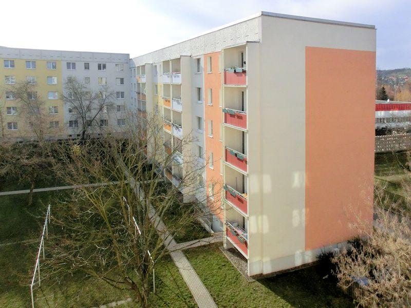 Ringstraße 3a-c, Freital-Zauckerode, geplante Stransanierung im Jahr 2022, Foto: WGF